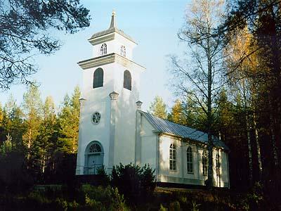 Annefors kapell. Foto: Kalle Johansson.