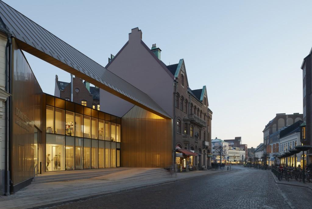 Domkyrkoforum i Lund. Arkitekt: Carmen Izquierdo. Fotograf: Åke E:son Lindman
