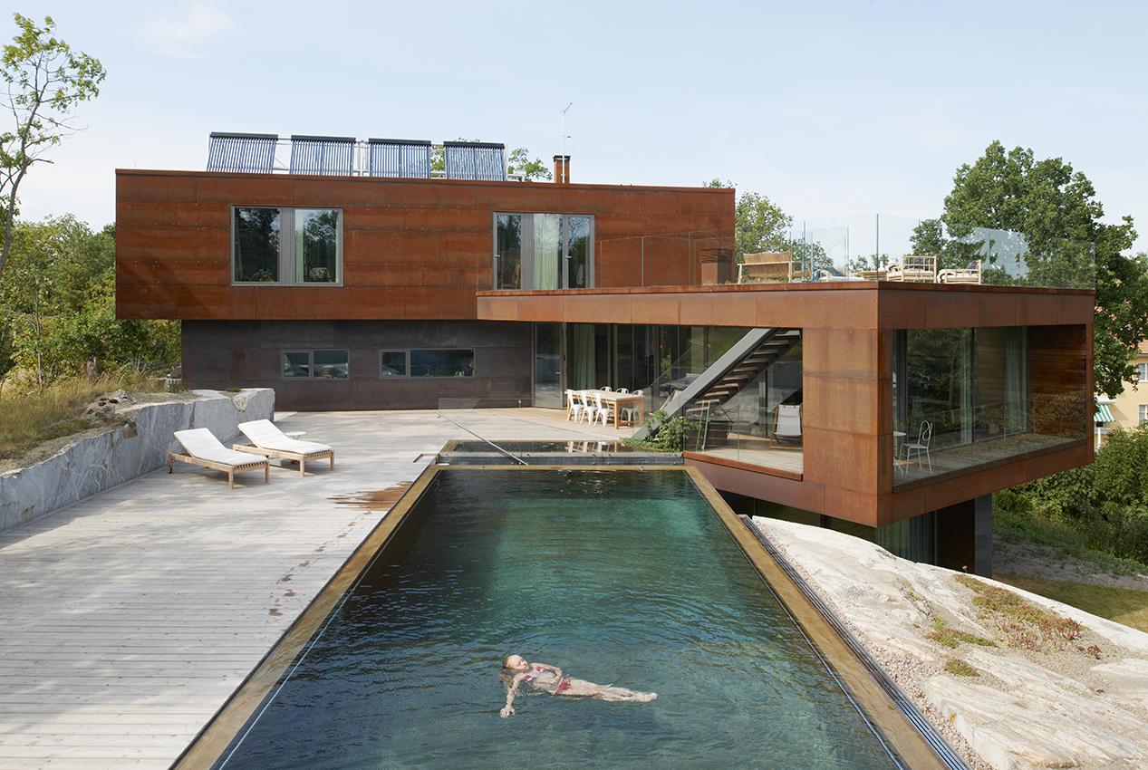 Villa midg rd sveriges arkitekter for Costruzioni case moderne