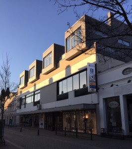 White arkitekter: Radhus på tak, Karlshamn