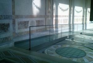 Ramp som ett smycke: välutformad och välanpassad ramp på ett museum i Paris