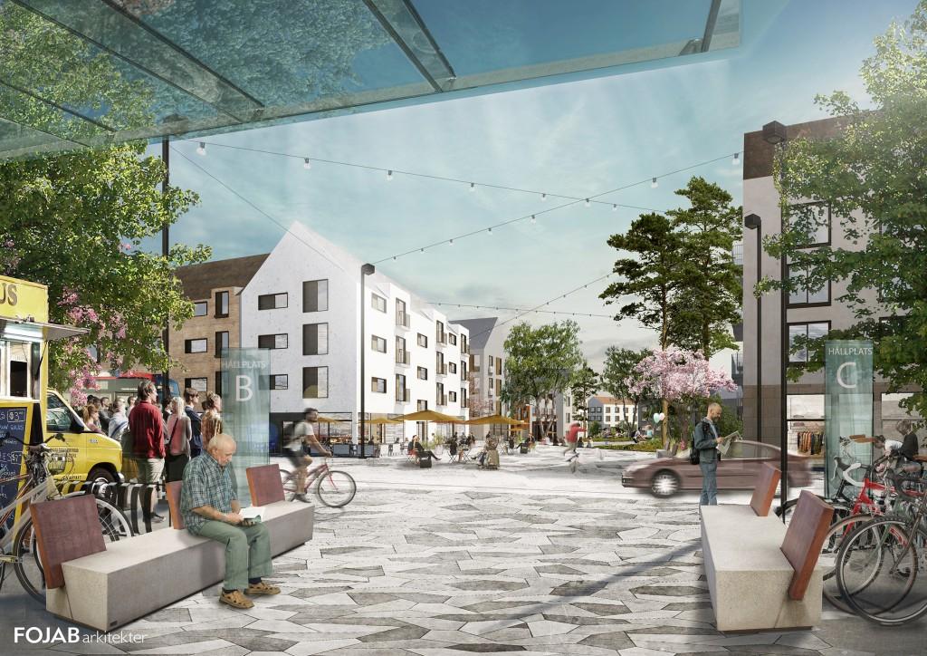 Stationstorget Karlshamn Fojab