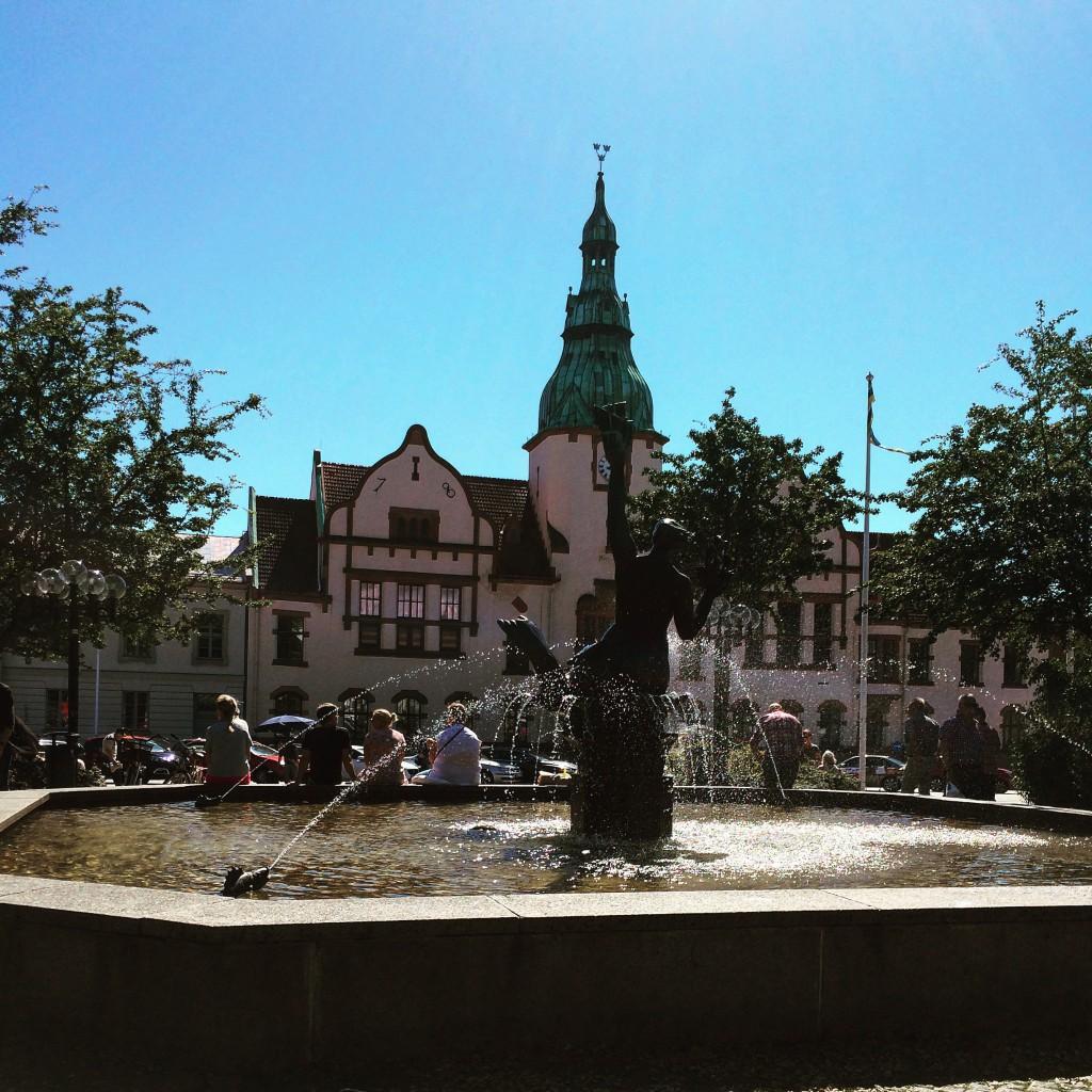 Stortorget Karlshamn. Foto: Emina Kovacic