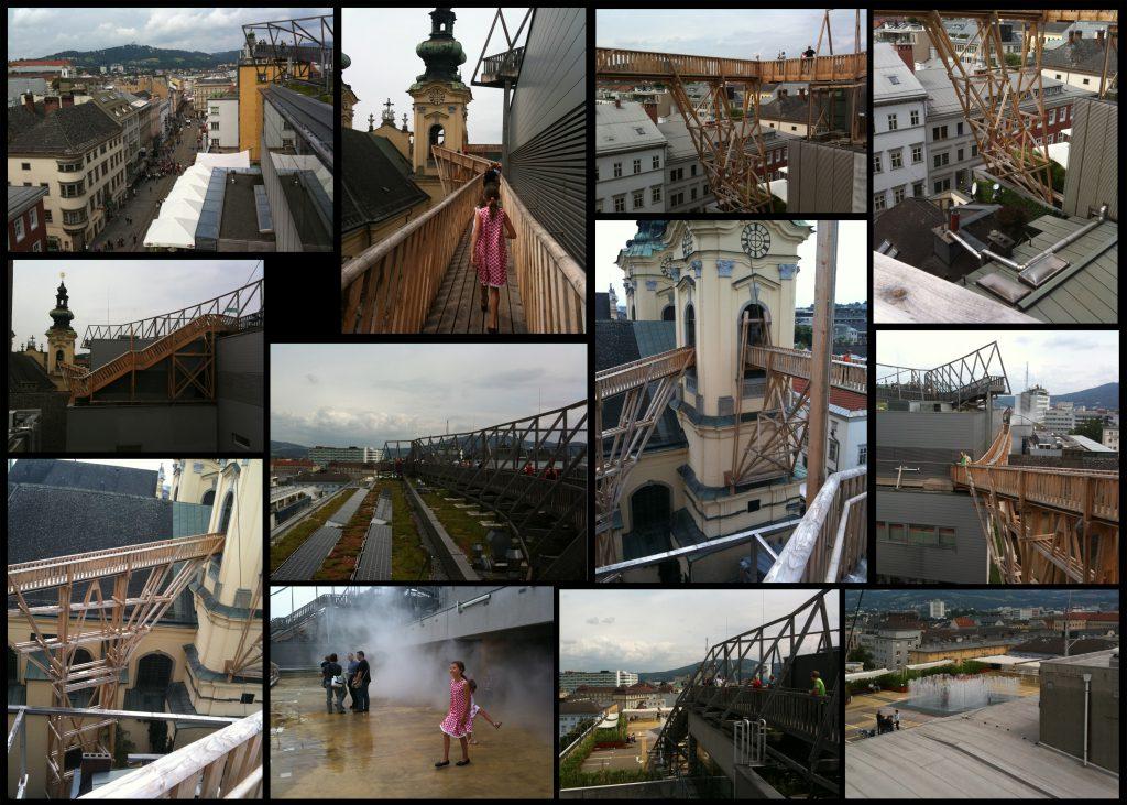 """""""Linz Super Branch"""" av Atelier Bow-Wow i samarbete med Riepl Riepl arkitekter, 2011. Foto och collage: Emina Kovacic"""