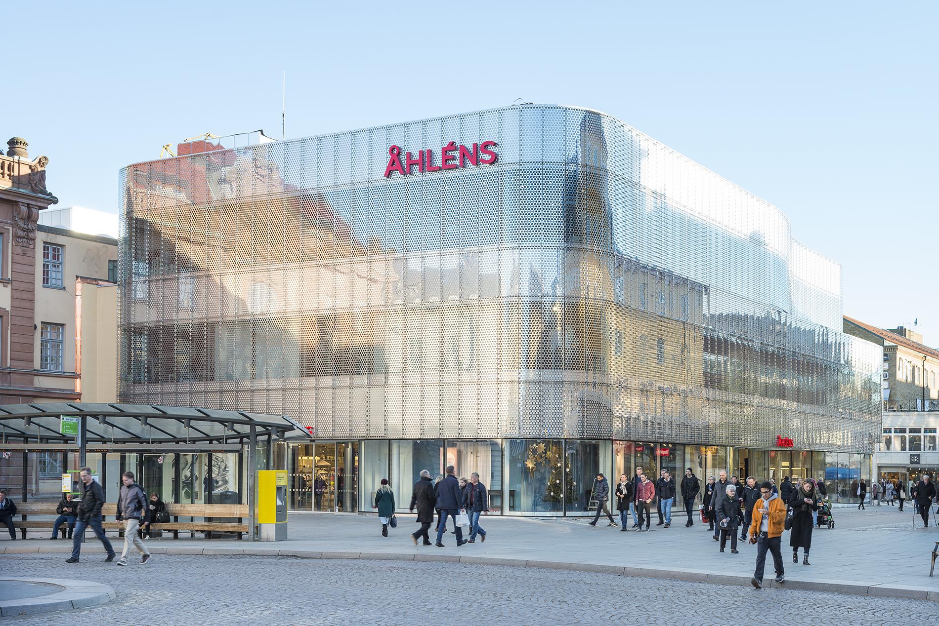 Åhléns i Uppsala efter ombyggnad. Arkitekt: Tham & Videgård. Foto: Linus Flodin