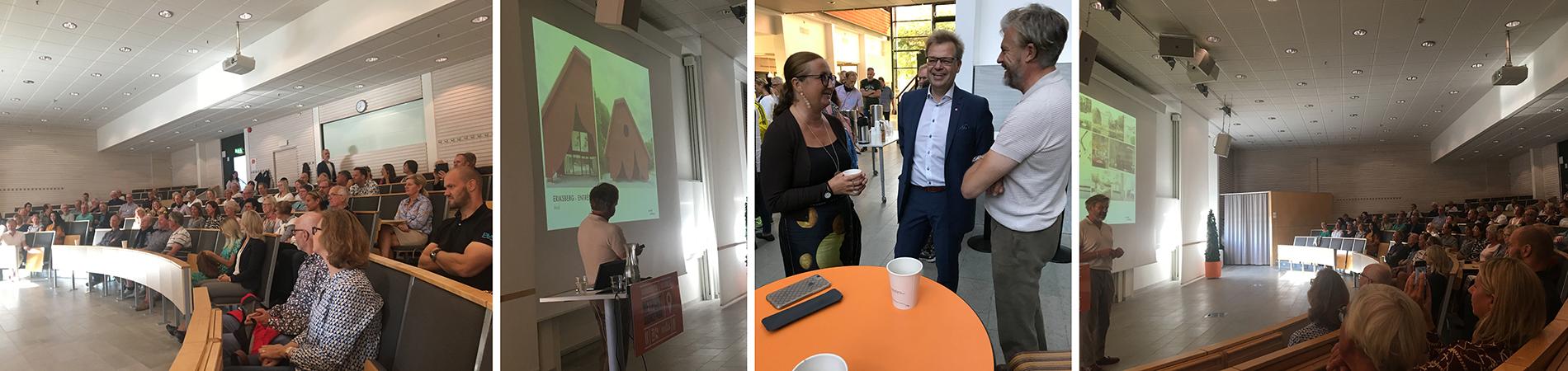 """Thomas Sandell: """"Ny arkitektur skaver lite grand och ska väcka lite debatt. Vi lär oss att uppskatta saker när det har passerat lite tid..."""" Foton: Emina Kovacic och Rolf Hammar"""