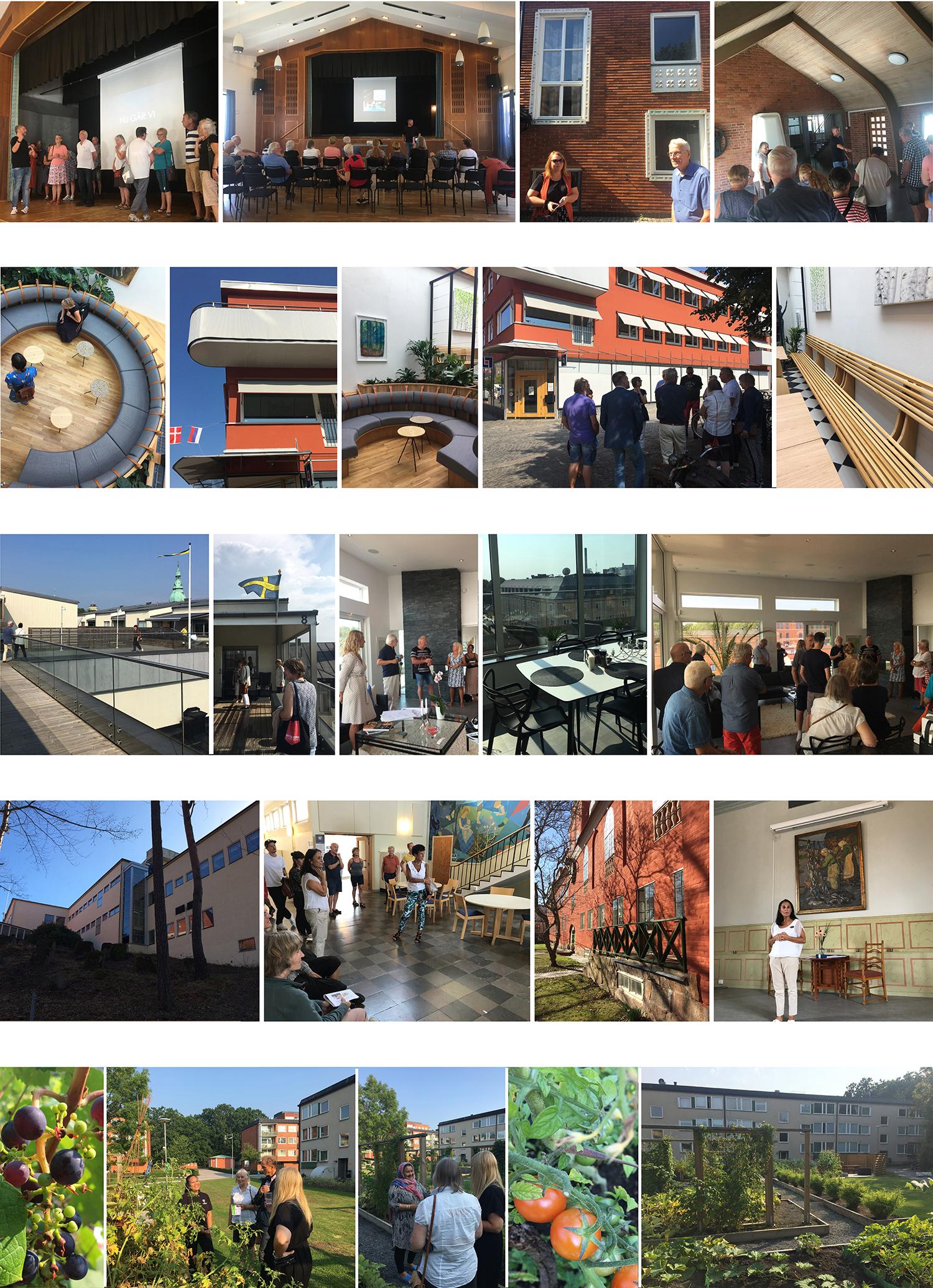 Några glimtar från de olika programpunkterna.Foton: Emina Kovacic och Rolf Hammar