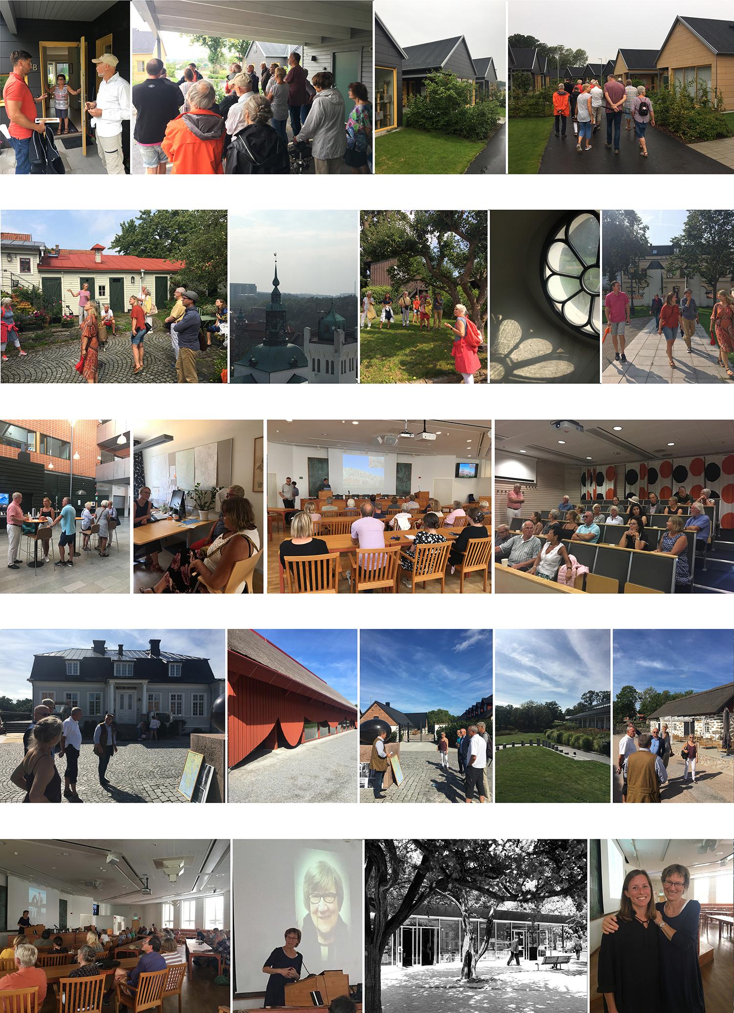 Fler ögonblick från de olika programpunkterna.Foton: Emina Kovacic utom det svartvita: Sten Vilson