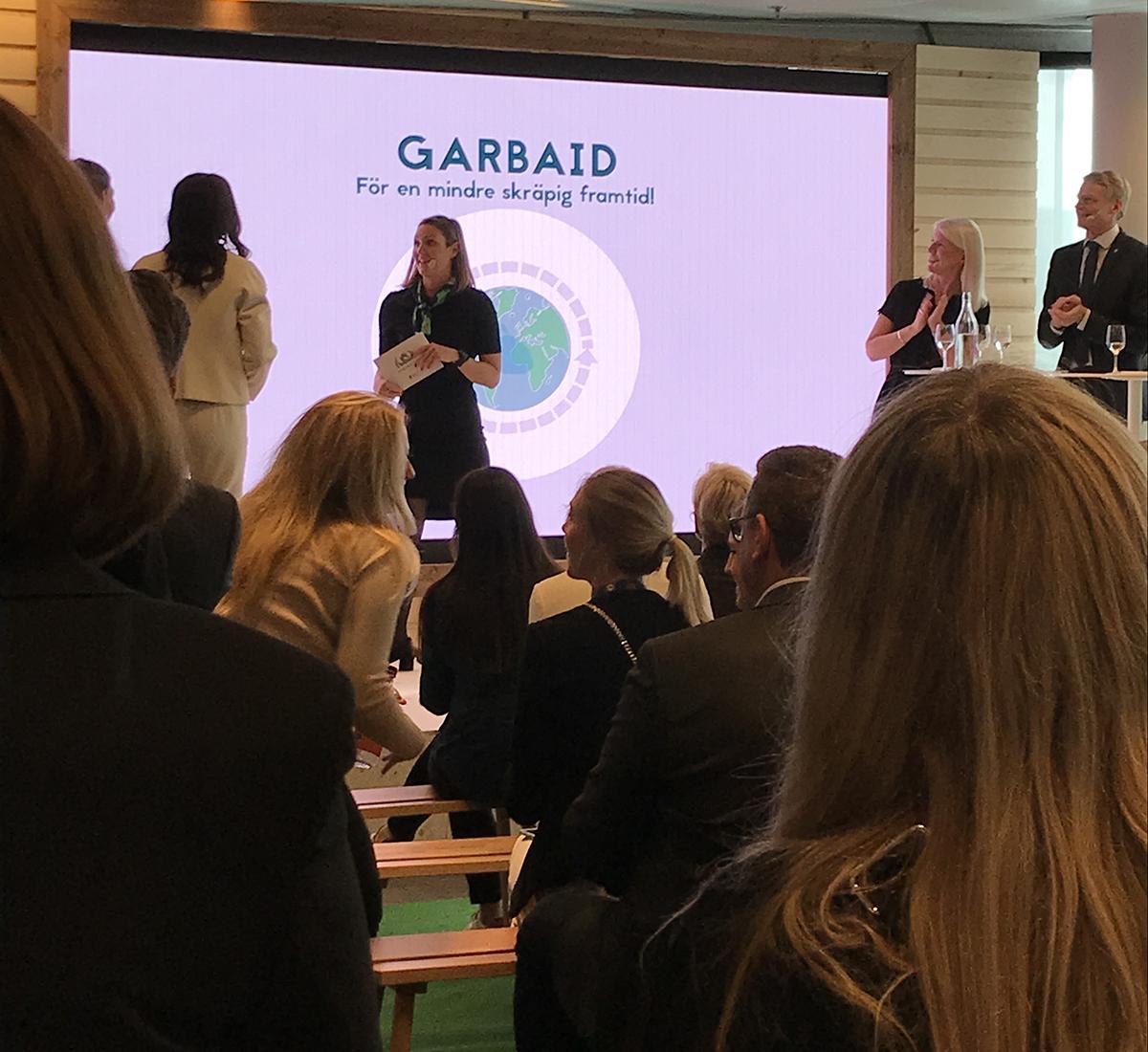 Appen Garbage-Aid analyserar och beräknar avfall på individnivå. Foto: Louise Sassene Lindqvist