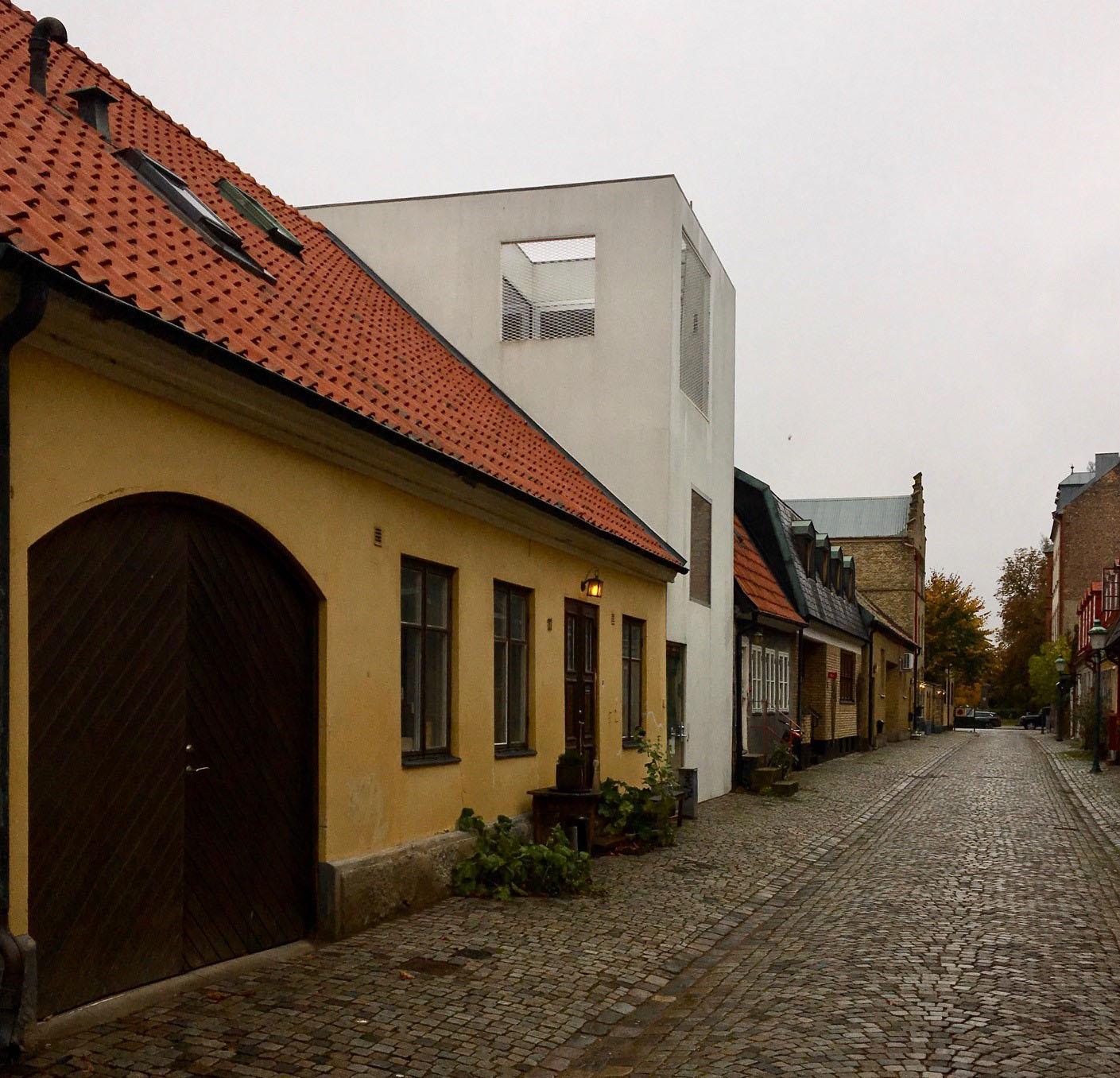 Townhouse i centrala Landskrona . Byggnadsår: 2009. Arkitekter: Jonas Elding och Johan Oscarsson. Foto: Emina Kovacic