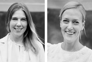 Anna Persson och Mona Kjellberg.