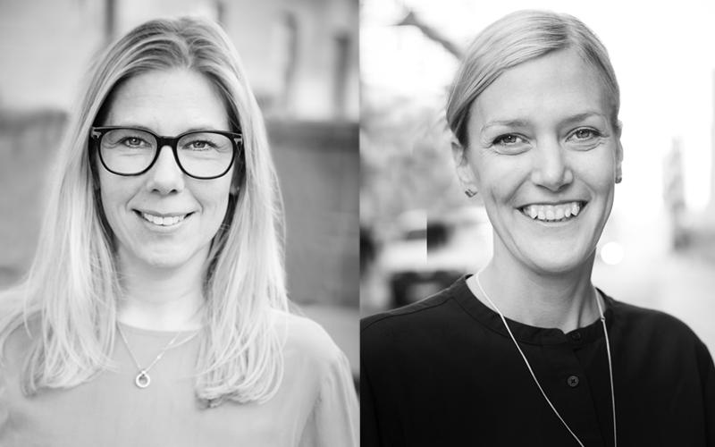 Kursledarna Anna Persson och Mona Kjellberg från Juni Strategi & Analys.