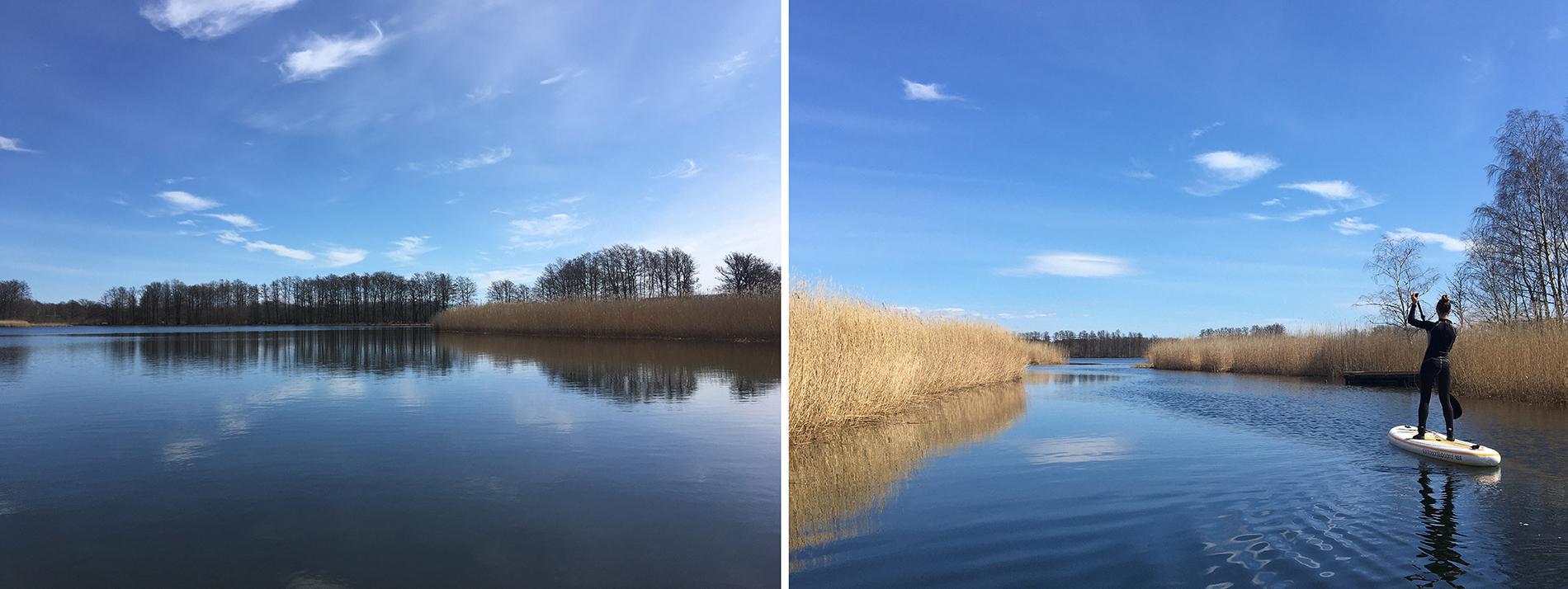 Bredasund, en del av naturreservatet Gö i Blekinge län – ett friluftsområde som består av vackra stränder, lövskog präglat av betesdjur, sällsynta djur och växter. Det används flitigt för utflykter, vandringar, bad och fiske. Foto: Emina Kovacic
