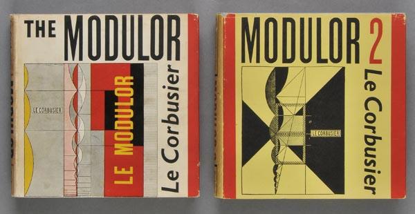 Bild: Le Modulors engelska utgåva från 1955. Den presenterades första gången 1948.