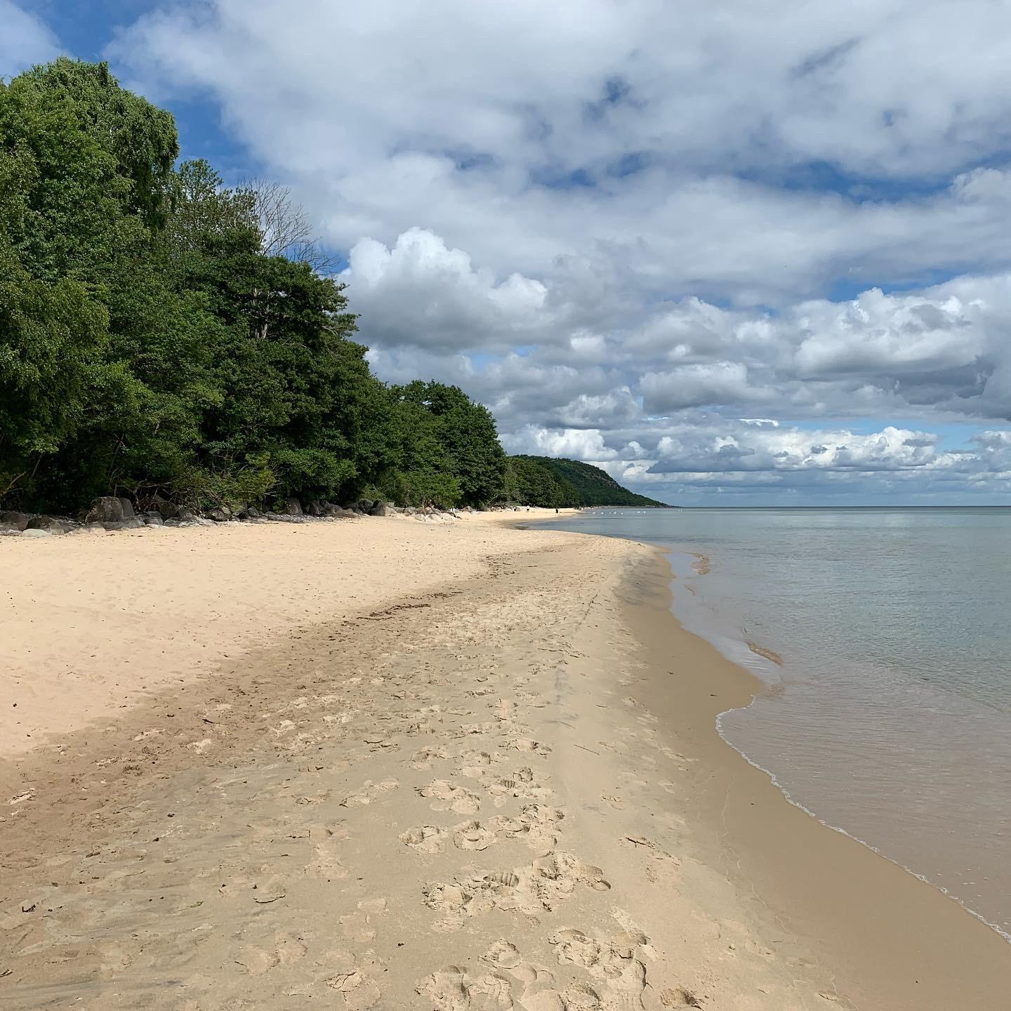 Knäbäckshusens strand.
