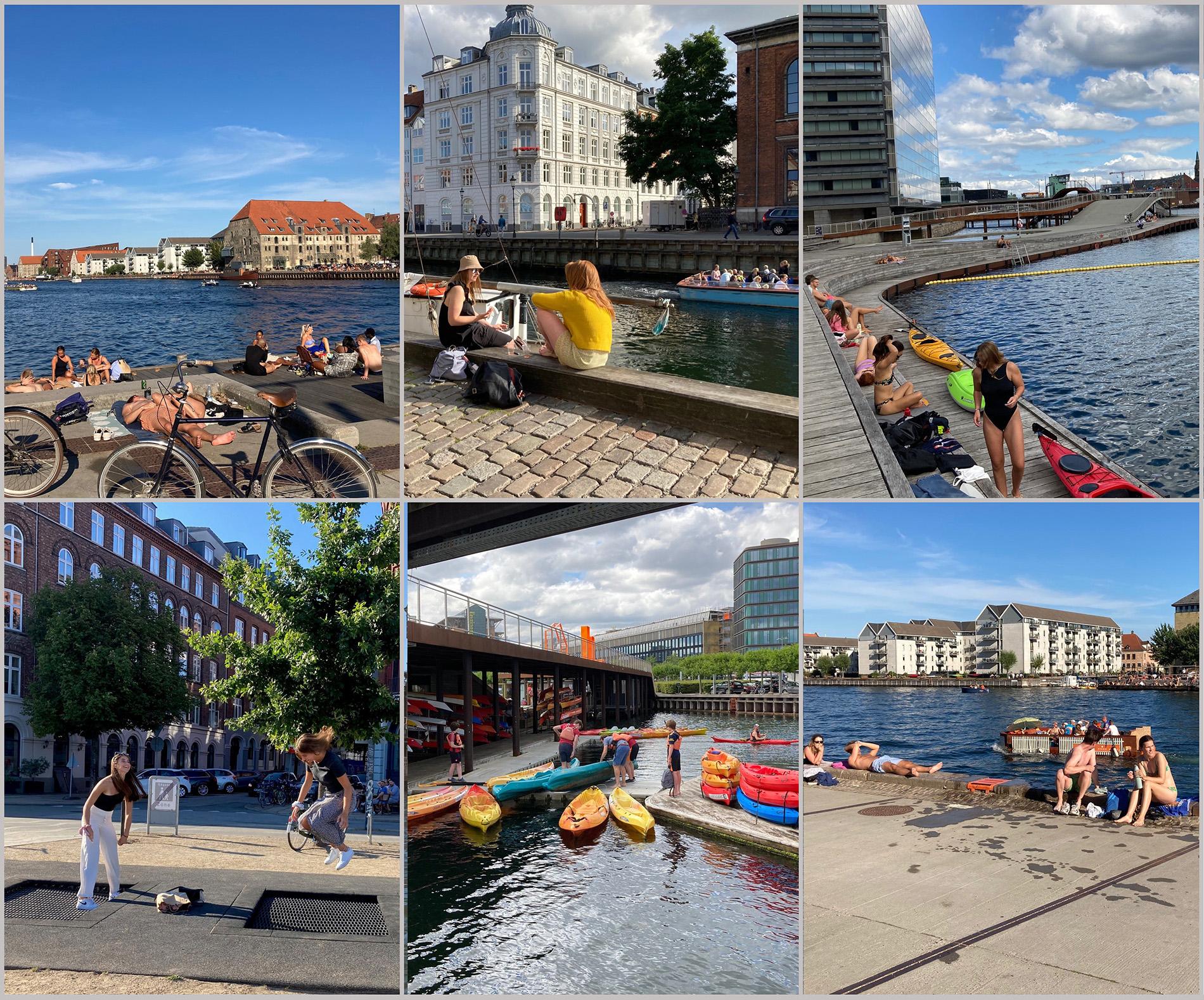 Köpenhamn är en stad som satsar mycket på olika typer av offentliga rum. Foto: Emina Kovacic