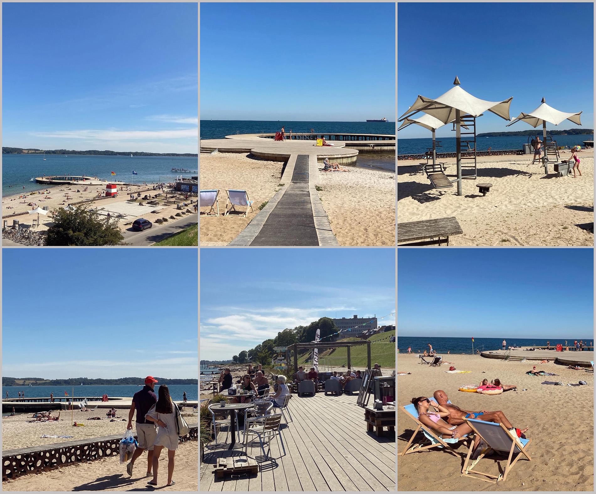 Stranden i Fredericia – en multifunktionell anläggning att inspireras av. Foto: Emina Kovacic