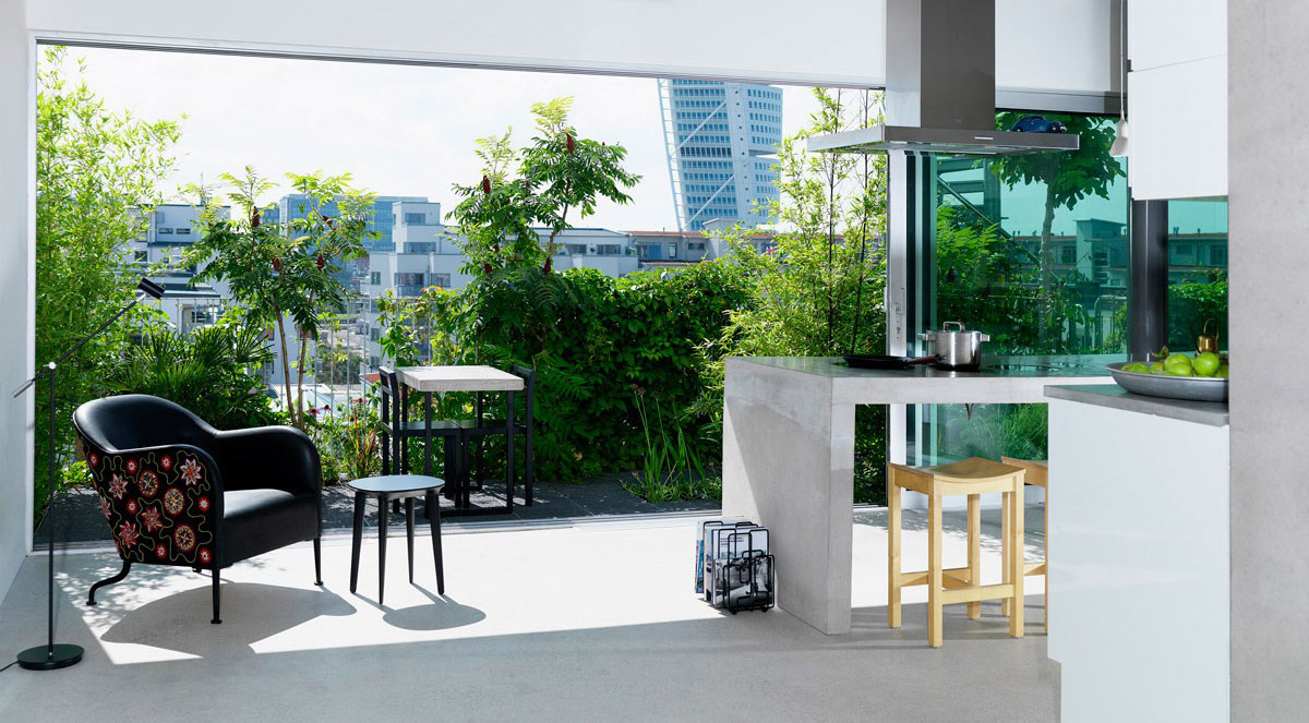 Urbana villor i Malmö, vinnare av Kasper Salin-priset 2009. Ansvariga arkitekter Cord Siegel och Pontus Åqvist.
