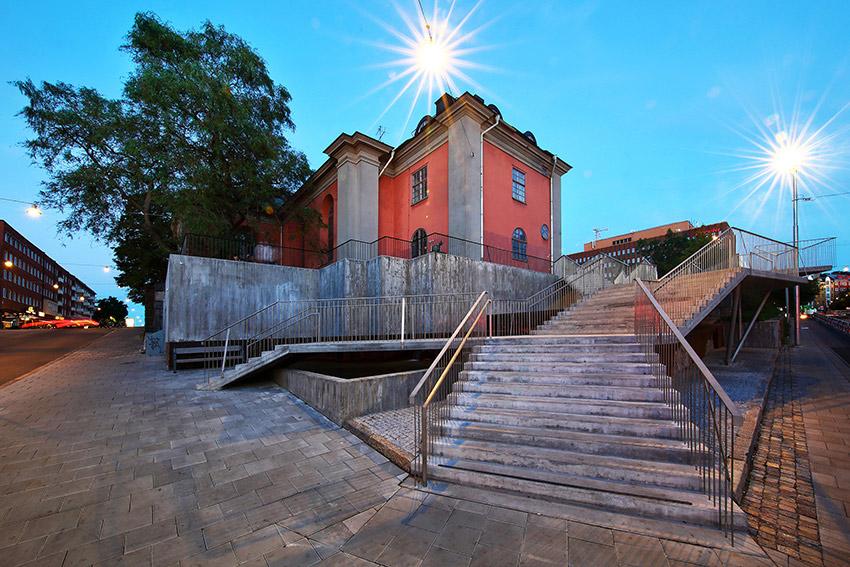 Sienapristagare 2015: Hörsalsparken i Norrköping. Arkitekt: Joakim Malmquist, AQ Arkitekter. Foto: Peter Holgersson.