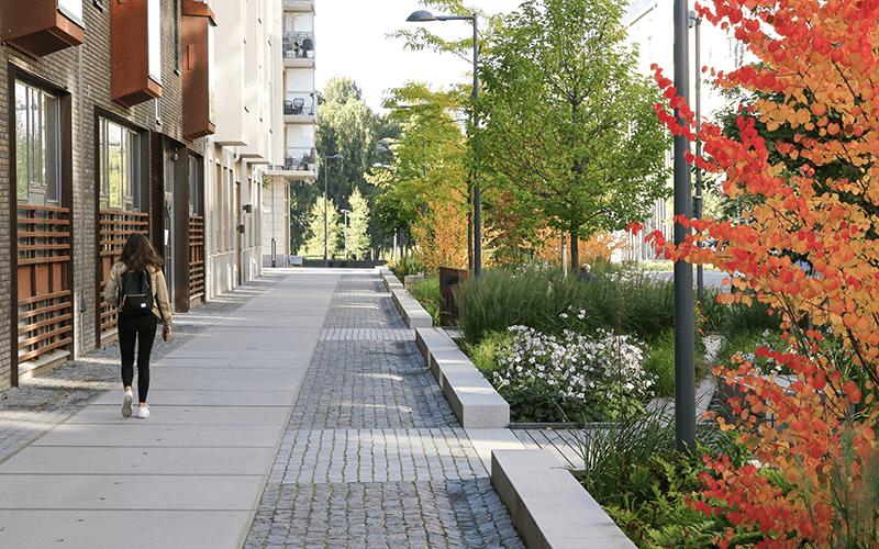 Vinnare av Landskapsarkitekturpriset 2019. Arkitekt: AJ Landskap. Foto: Lennart Johansson.