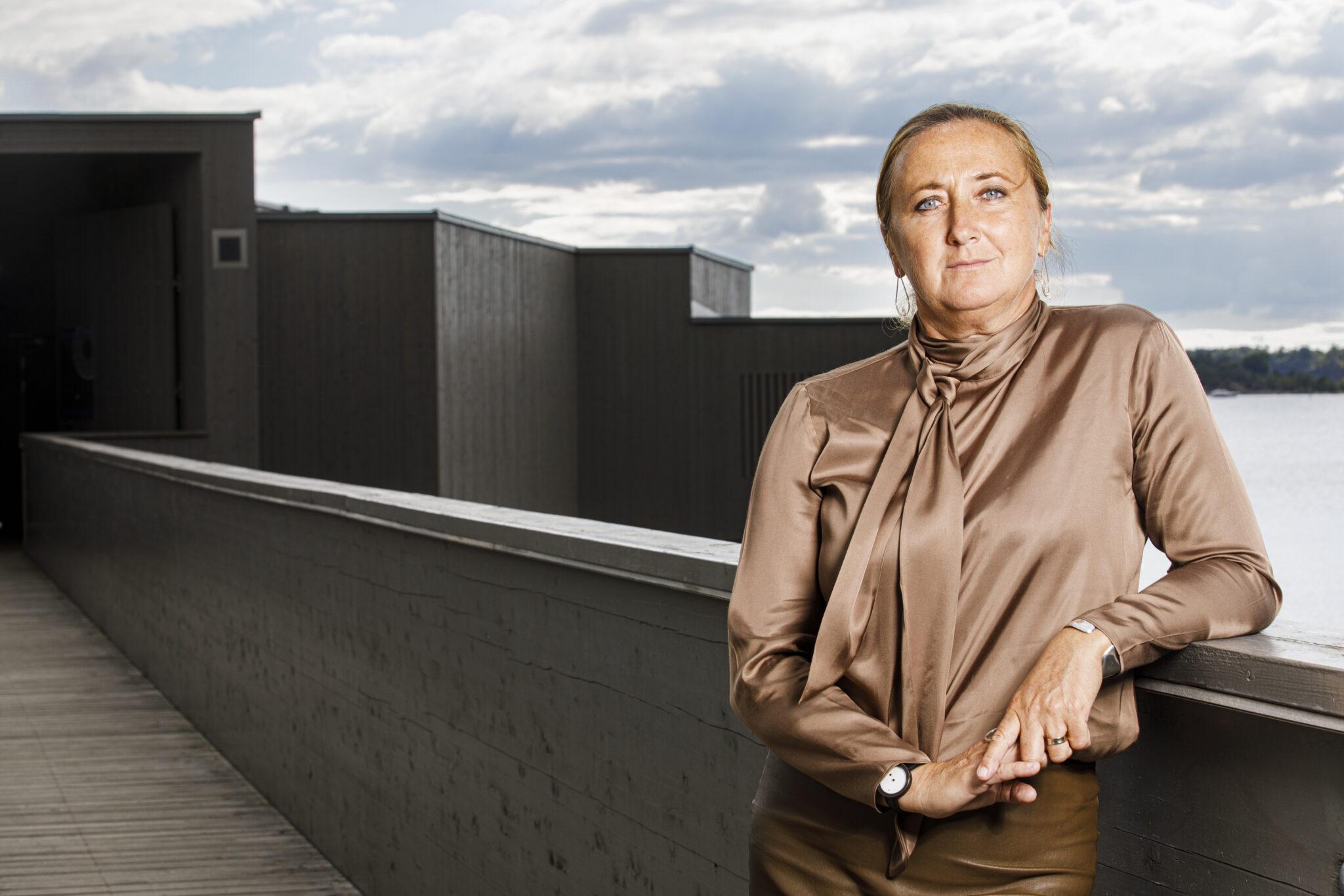 Emina Kovacic, stadsarkitekt i Karlshamn. Foto: Lars Jansson