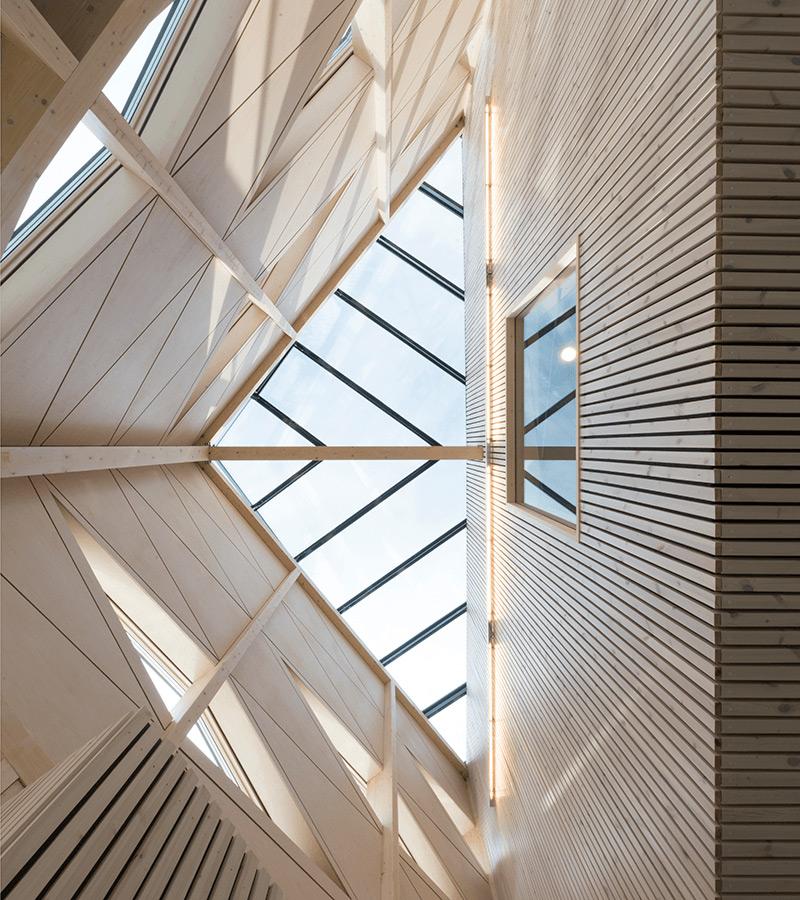 Vinnare Trafikverkets arkitekturpris 2019 Angereds resecentrum. Arkitekt: Wingårdh arkitektkontor. Foto: William Gustavsson.