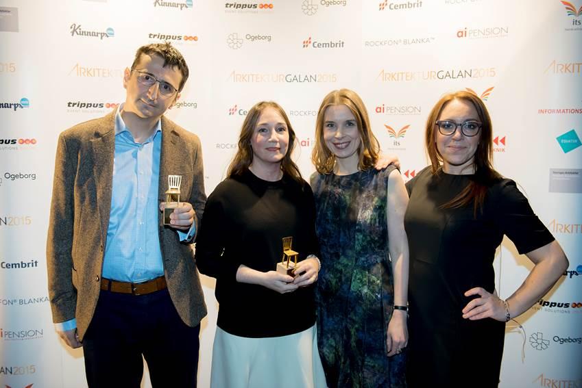 Vinnare av Guldstolen 2015.
