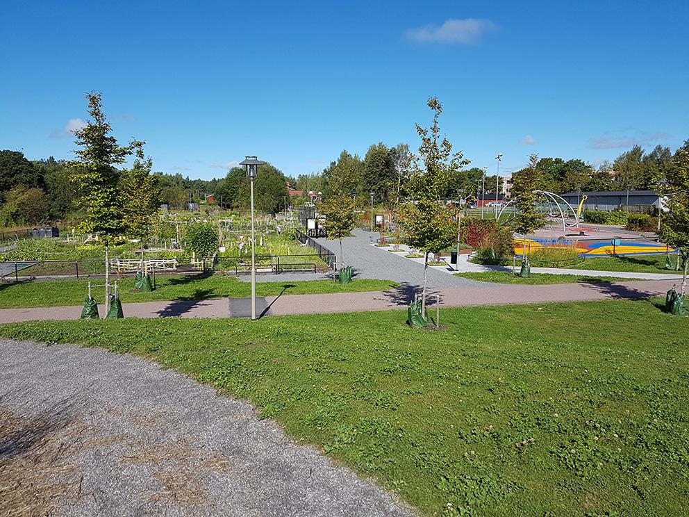 Paradisparken i Borlänge. Arkitekt – Borlänge kommun/Borlänge Energi. Foto: Sofia Stenberg.