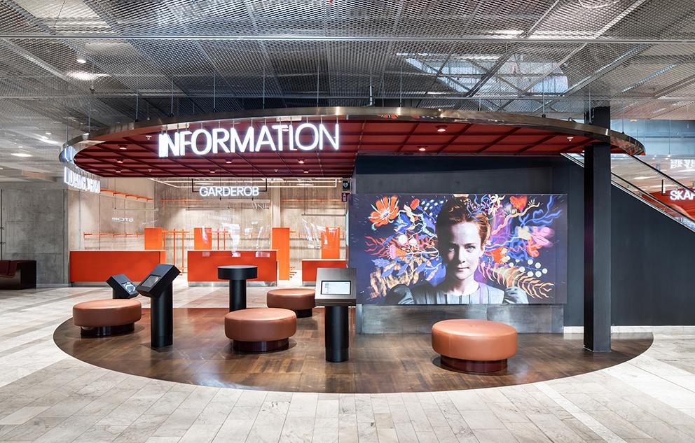 Ombyggnad av Kulturhuset i Stockholm. Ahrbom & Partner Arkitektkontor. Foto: Johan Eldrot.