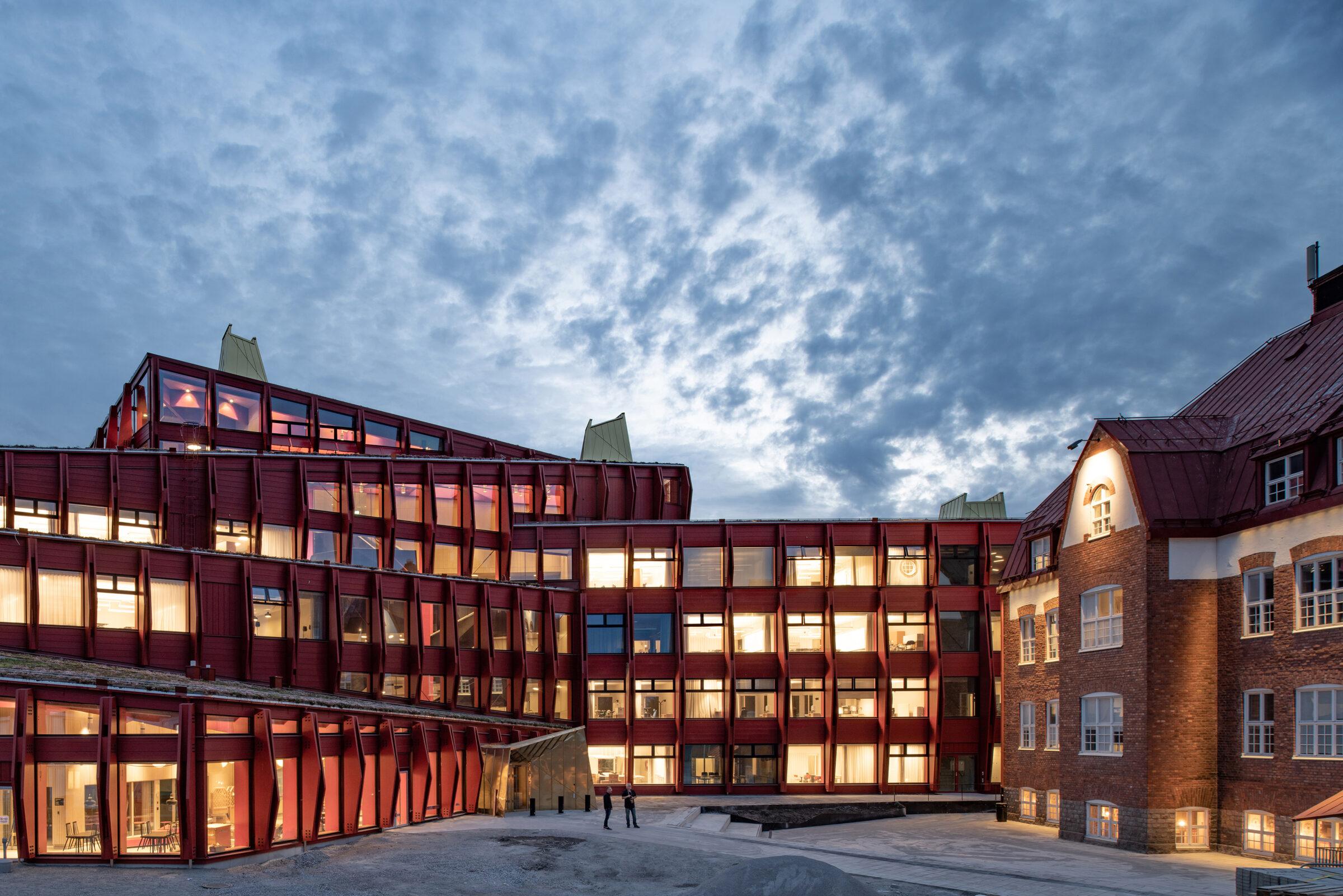 Kunskapshuset i Gällivare. Liljewall och MAF arkitektkontor. Foto: Anders Bobert.