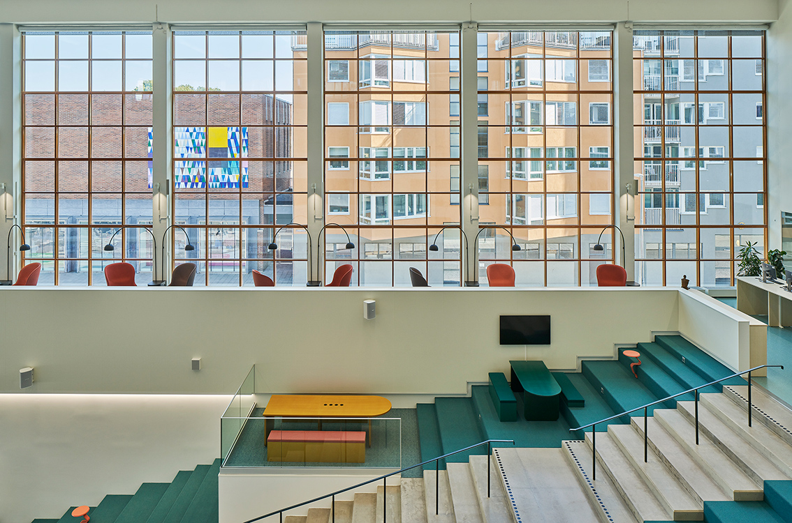 Mälardalens högskola, Campus, Eskilstuna. Arkitekt AIX Arkitekter. Foto: Åke E:son Lindman.