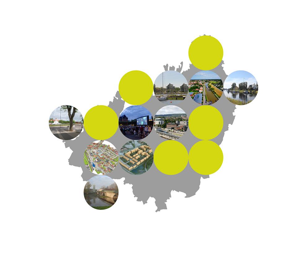 Strukturbild Skaraborg. Arkitekt – Skaraborgs kommunalförbund, Chalmers arkitektur och samhällsbyggnadsteknik.