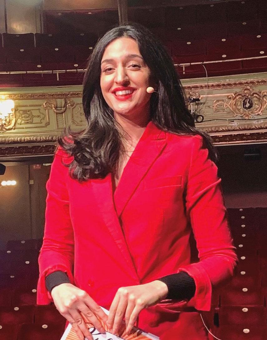 Parisa Amira leder årets upplaga av Arkitekturgalan. Foto: Privat.
