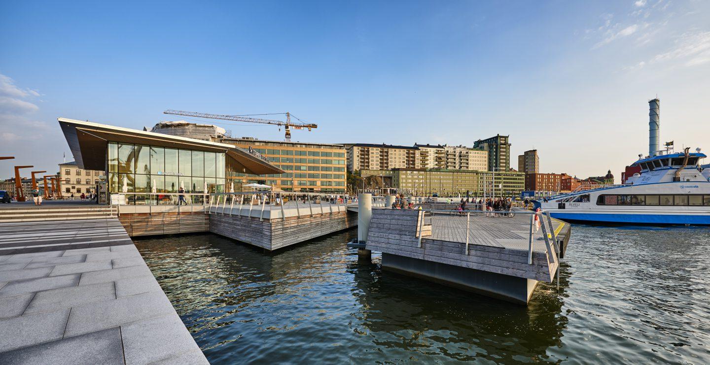 Stenpiren i Göteborg. Foto: Nils-Olof Sjöden.