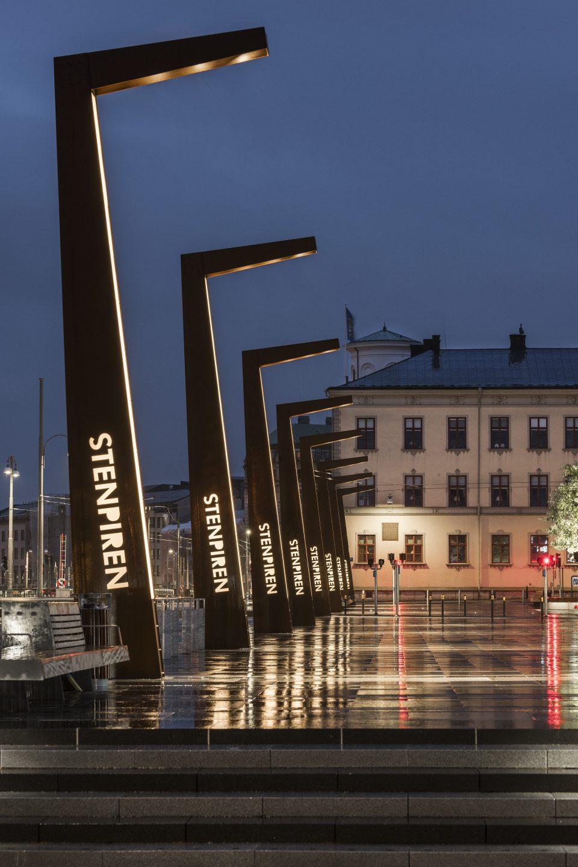 Stenpiren i Göteborg. Foto: Ernst Henry.