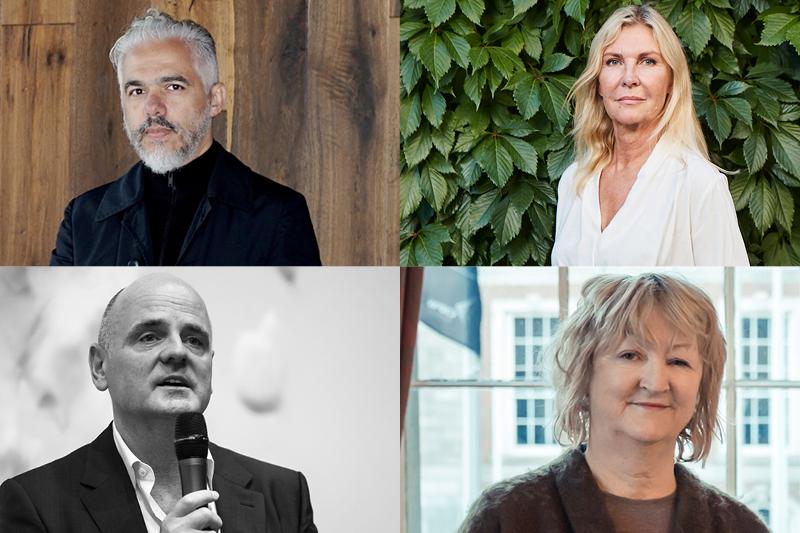 Hector Esrawe, Dorte Mandrup, James Corner och Yvonne Farrell är de internationella talarna som på Arkitekturgalan berättar om vad pris- och tävlingsvinster betytt för deras arkitektkontor.