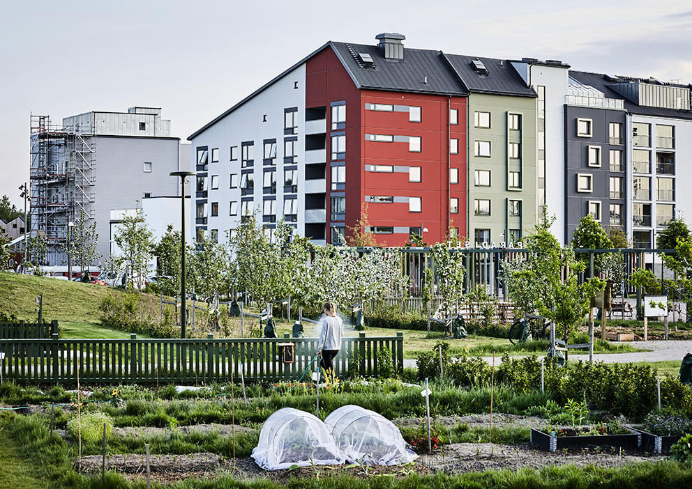 Paradiset i Linköping, vinnare av Landskapsarkitekturpriset 2020. Arkitekt: 02landskap. Foto: Måns Berg