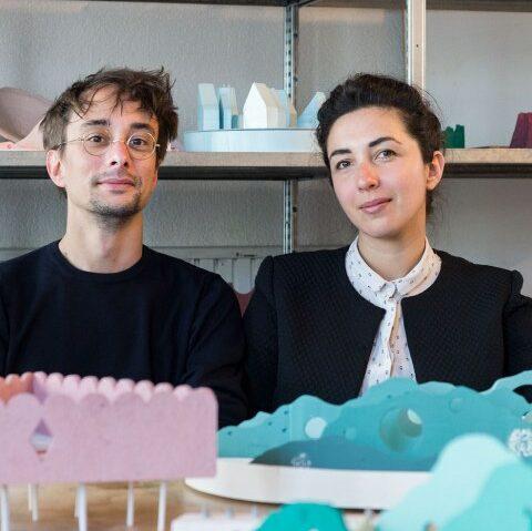 Alessandra Covini and Giovanni Bellotti. Photo by Loes van Duijvendijk